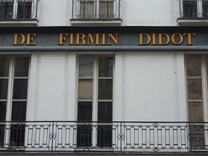 De Firmin Didot