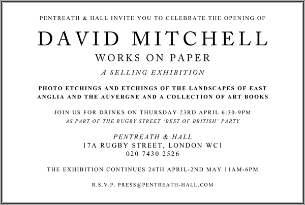 David Mitchell Invitation